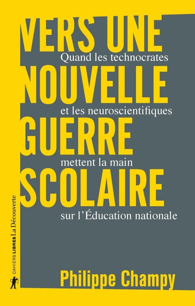 Couverture: Vers Une nouvelle guerre scolaire