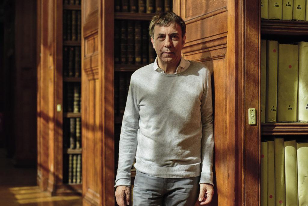 Nicolas Frize, compositeur de musique contemporaine.
